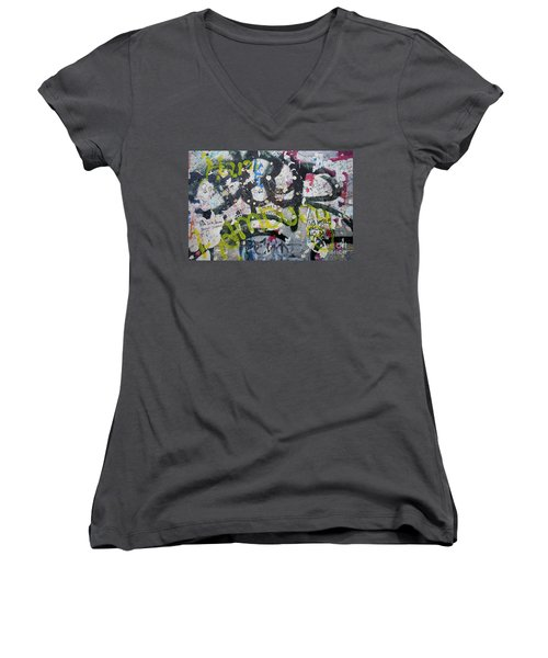 The Wall #9 Women's V-Neck