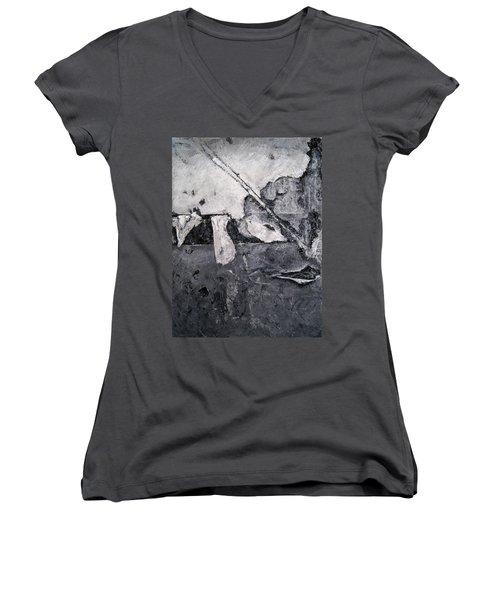 Fractured Women's V-Neck T-Shirt