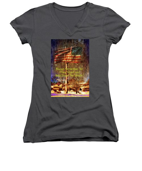The Watch Women's V-Neck