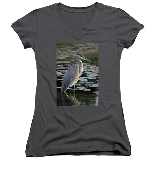 The Watcher Women's V-Neck (Athletic Fit)