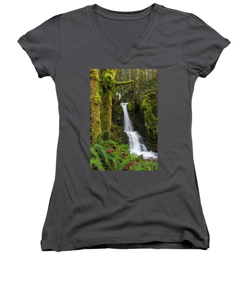The Water Staircase Women's V-Neck