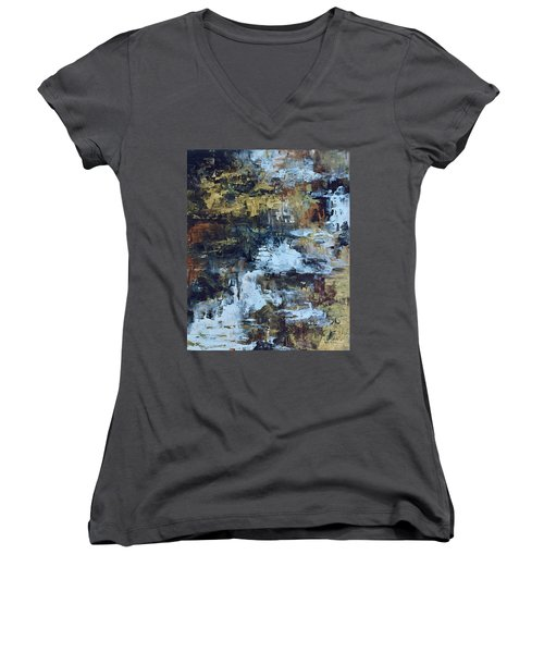 The Waterfall Women's V-Neck (Athletic Fit)