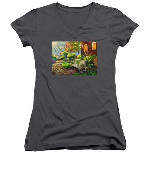 The Way Home Women's V-Neck T-Shirt