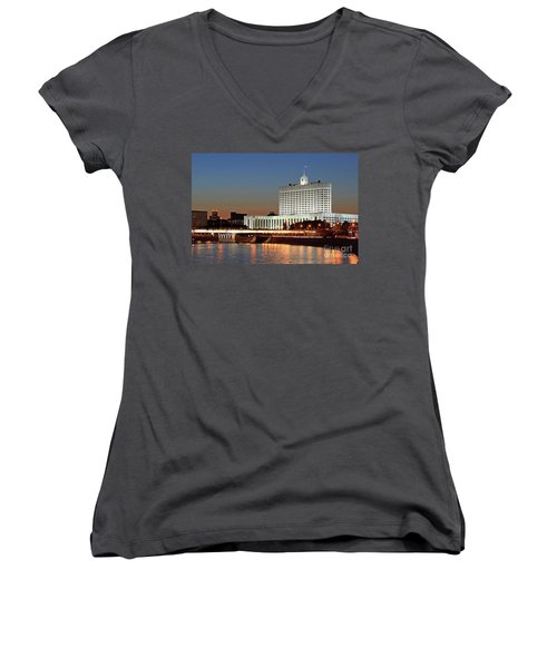The White House Women's V-Neck