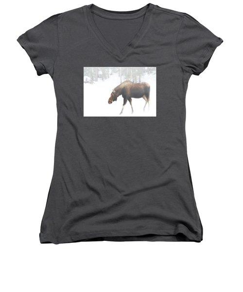 The Winter Moose Women's V-Neck
