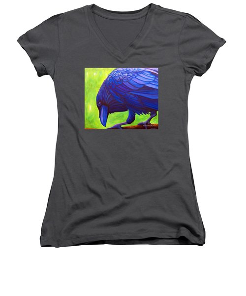 The Witness Women's V-Neck (Athletic Fit)