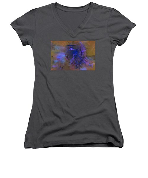 Then As Now Women's V-Neck T-Shirt