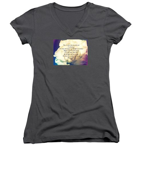 There Is A Place Women's V-Neck T-Shirt