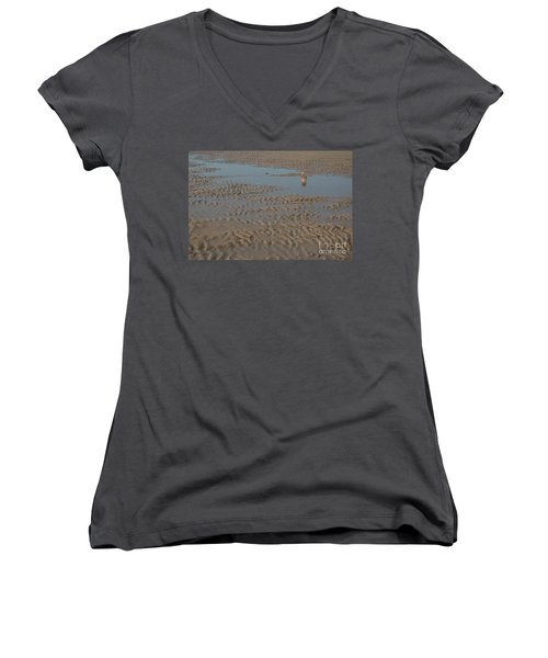 There Once Was A Boy... Women's V-Neck