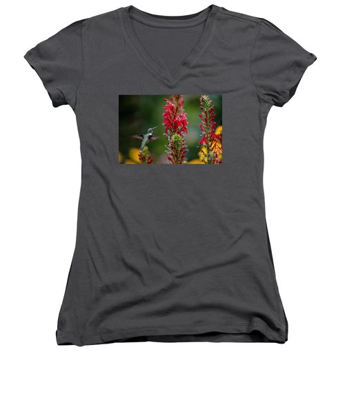 They All Look Yummy Women's V-Neck (Athletic Fit)