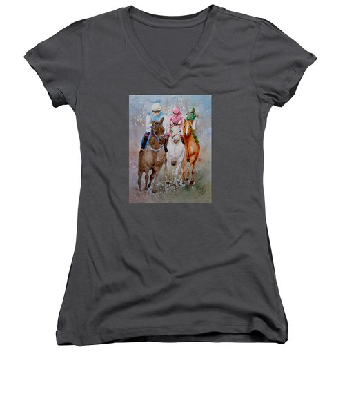 They're Off Women's V-Neck T-Shirt