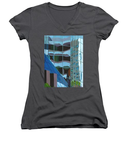 Third And Earll Women's V-Neck T-Shirt (Junior Cut) by Alika Kumar