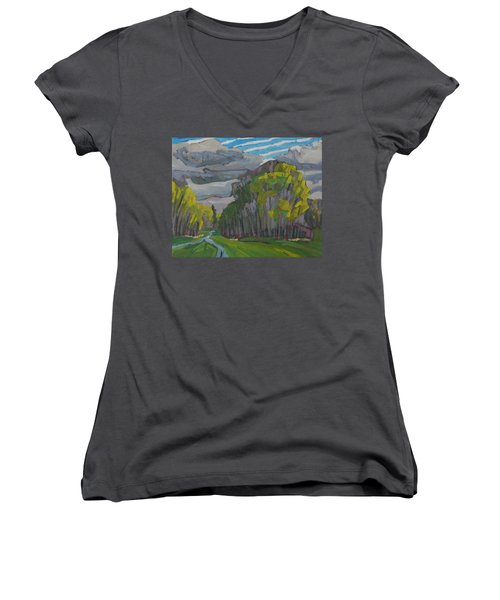Thirty Shades Of Green Women's V-Neck