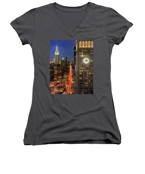 This Is My City Women's V-Neck T-Shirt