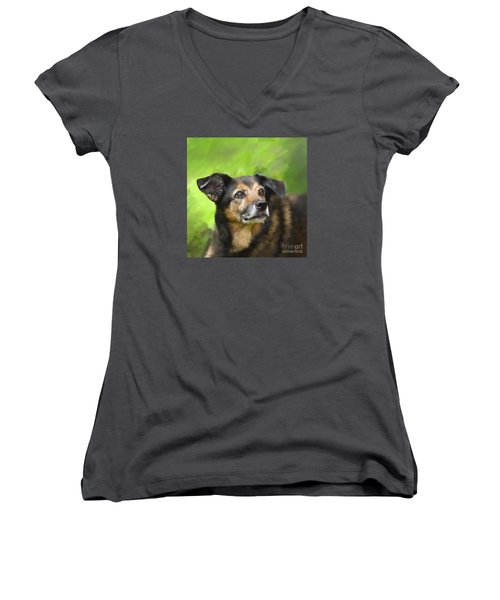 This Is Stella Women's V-Neck T-Shirt