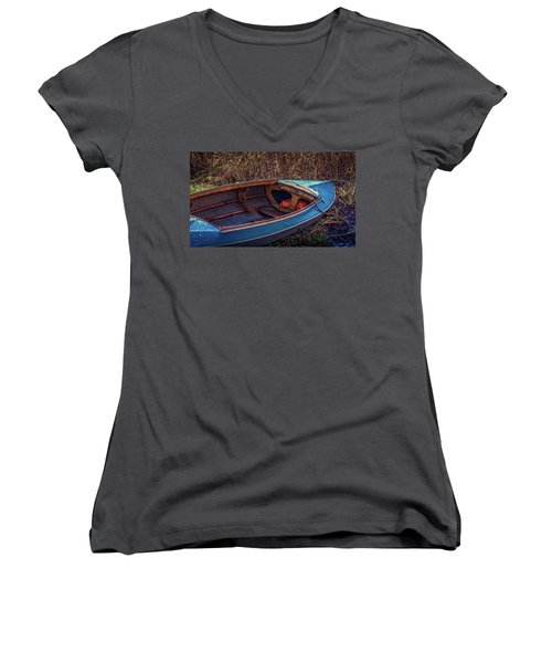This Old Boat Women's V-Neck T-Shirt (Junior Cut)