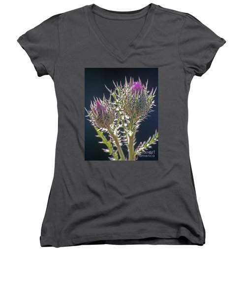 Thistle Women's V-Neck (Athletic Fit)