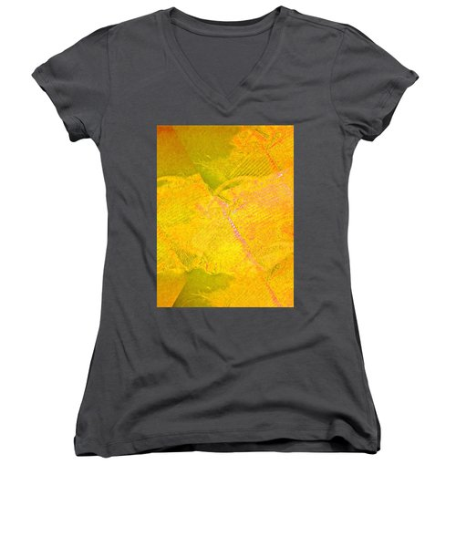 Threads  Women's V-Neck T-Shirt (Junior Cut) by Dan Twyman