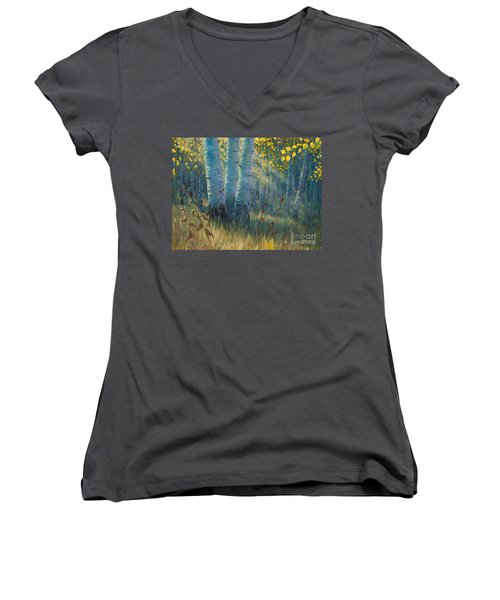 Three Sisters - Spirit Of The Forest Women's V-Neck