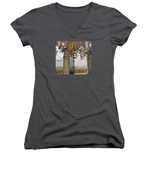 Through The Gates Women's V-Neck T-Shirt