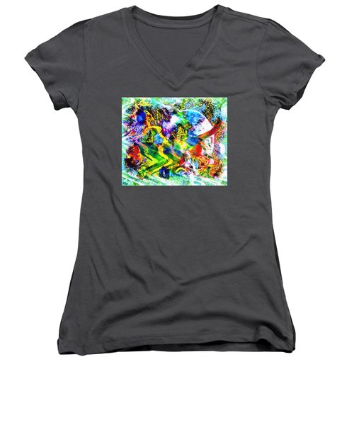 Through The Generations Women's V-Neck (Athletic Fit)