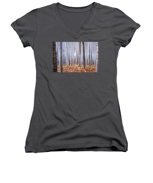 Through The Layers Women's V-Neck