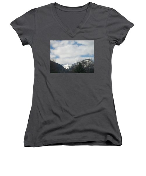 Through The Pass Women's V-Neck T-Shirt