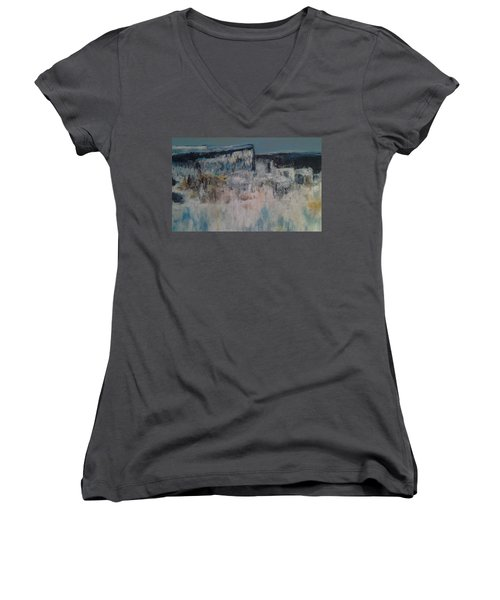 Through The Valley Women's V-Neck T-Shirt
