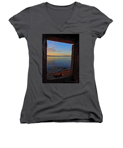 Through The Window Women's V-Neck