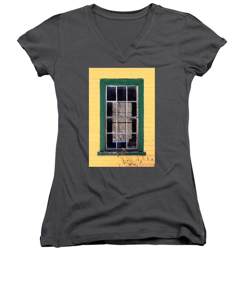 Through The Windows Women's V-Neck (Athletic Fit)
