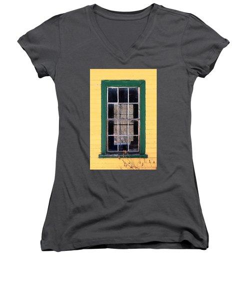 Through The Windows Women's V-Neck T-Shirt