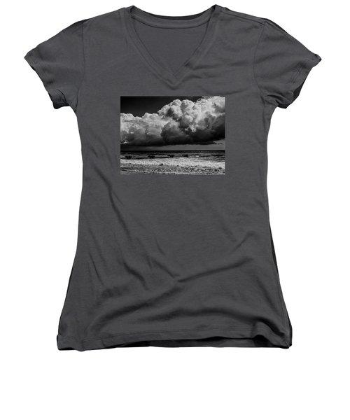 Thunder Head By The Sea Women's V-Neck