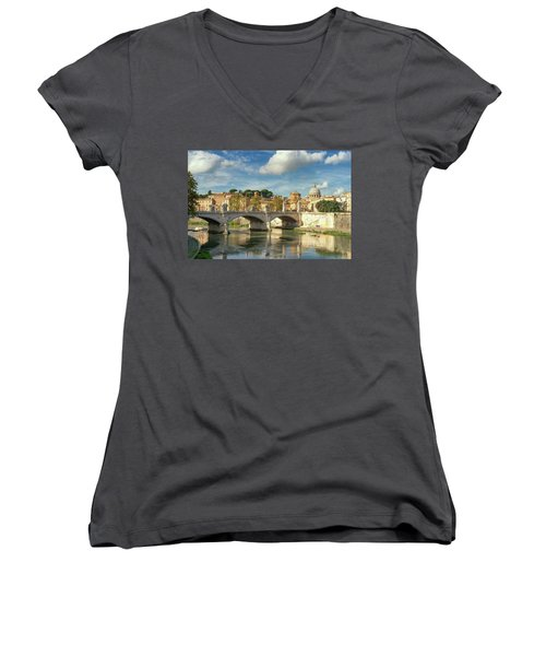 Tiber View Women's V-Neck