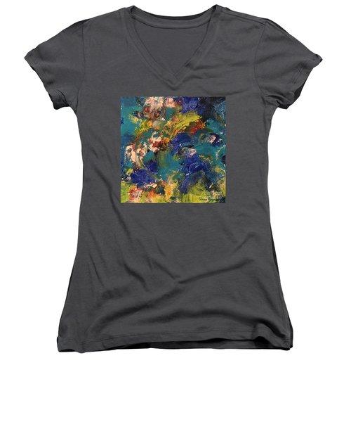Tidal Wave Women's V-Neck T-Shirt
