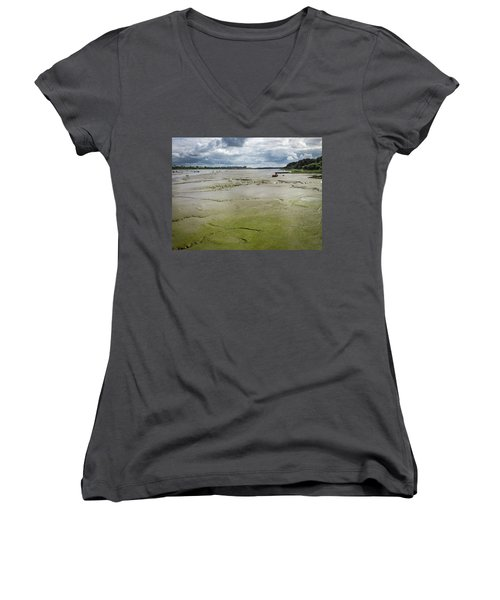 Tide Is Out  Women's V-Neck
