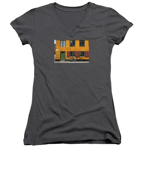 Tigergade Apartment Scene Women's V-Neck T-Shirt