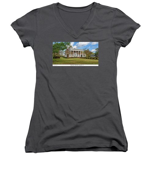 Tisdale Manor2 Women's V-Neck