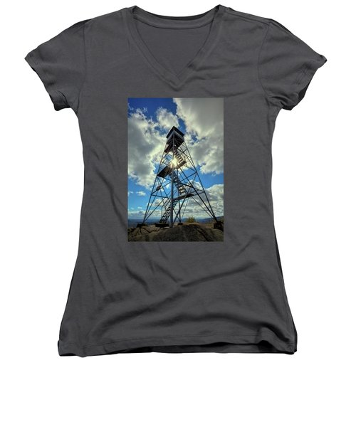To Climb Or Not To Climb Women's V-Neck