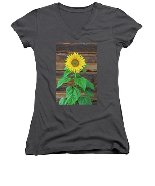 To Love And Be Loved Is To Feel The Sun From Both Sides.  Women's V-Neck (Athletic Fit)