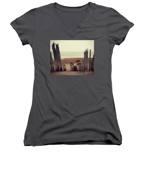 To The Sea Women's V-Neck