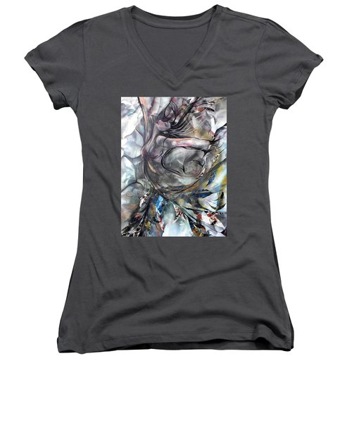 To The Tree Women's V-Neck T-Shirt (Junior Cut)