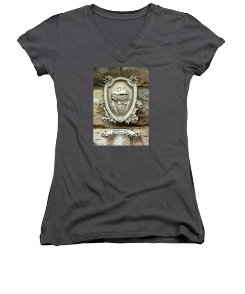 Toady Women's V-Neck (Athletic Fit)