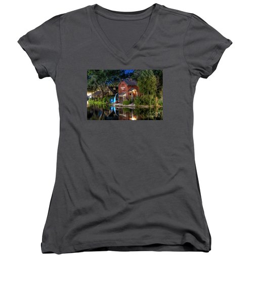 Tom Sawyers Harper's Mill Women's V-Neck T-Shirt