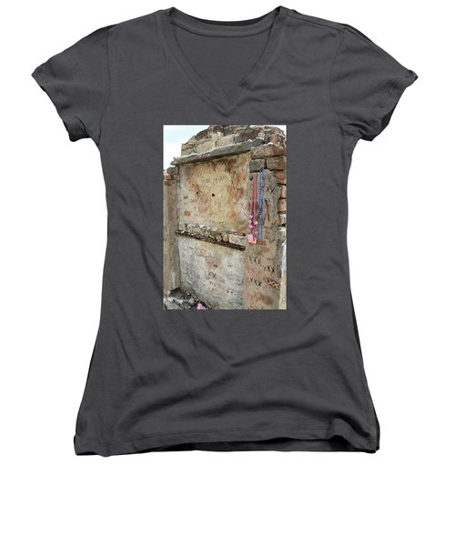 Tomb Of The Unknown Voodoo Priestess Women's V-Neck (Athletic Fit)