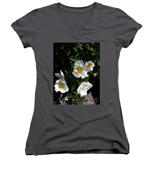 Too Thorny To Pick But Lovely All The Same Women's V-Neck