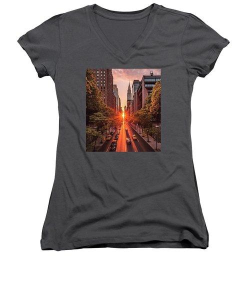 Top Of New York Women's V-Neck T-Shirt