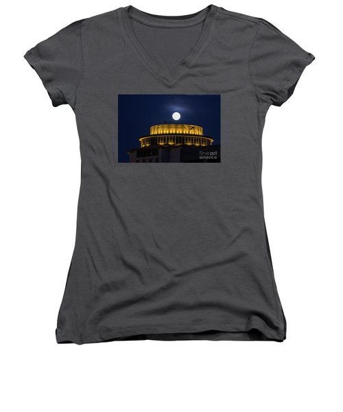 Top Of The Capstone Women's V-Neck