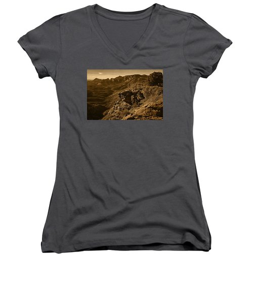 Top Of The Hill Women's V-Neck
