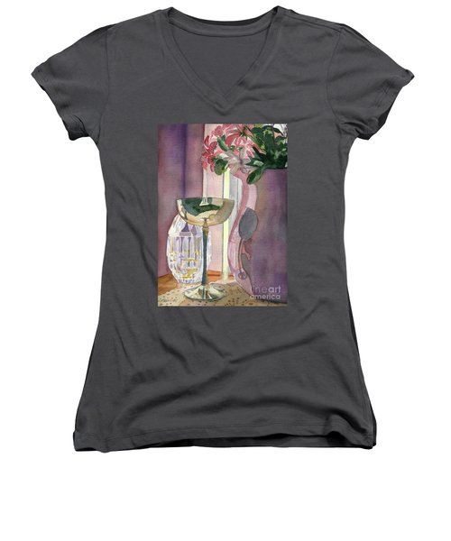 Top Of The Stairs Women's V-Neck