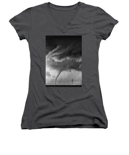Tornado Women's V-Neck